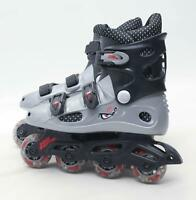 No Fear Boys UK Size 5 Grey Roller Skates