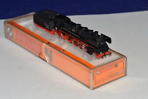 N Scale Arnold 2512 BR41 2-8-2 Steam Locomotive & Tender with Smoke Generator