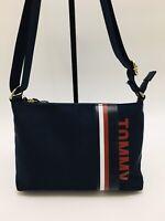 Tommy Hilfiger Woman's Nylon Crossbody Small Handbag Navy (NWT)