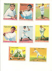 1933 GOUDEY Complete Reprint Set 240 Cards Very High Quality BABE RUTH GEHRIG ++