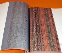 Japanese EDO SARASA design book japan,kimono,chintz #0323
