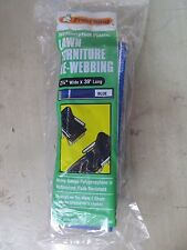 "Frost King Lawn Chair Webbing  BLUE  #PW39B  2.25"" Wide    NEW"