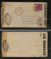 Cameroun  275  single use double censor cover  to US    KL0124