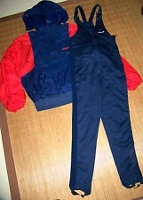 ADIDAS Langlauf Ski Anzug unisex Winter 40 42 Schnee Sport Set Kombi blau #101