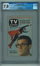 TV GUIDE VOL 1 #26 CGC 7.0  SOLE BEST CGC COPY  SUPERMAN 9/25/53 PGH WHITE PAGES