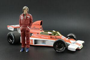 James Hunt Figure for 1:18  McLaren M23 Minichamps PMA !! NO CAR !!