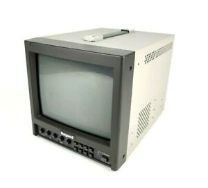 """Ikegami TM9-1 9"""" Color CRT Video Broadcast Monitor"""