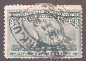 US 1892 Columbus presenting 3C