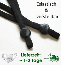 1-Paar Soft verstellbar Gummiband Gummiband Rundgummi Maskeschnur