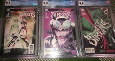 Gotham City Sirens Lot of 3 CGC Graded #1 9.8 #2 9.8 #3 9.8 Harley Ivy Catwoman!