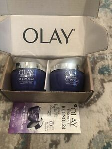 Olay Regenerist Retinol 24 Night Face Moisturizer Lot Of 2 NIB