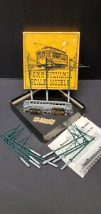 PENNSYLVANIA SCALE MODELS HO PSM BRILL SUBURBAN TROLLEY