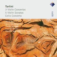 Piero Toso - Tartini 3 Violin Concertos 5 Violin Sonatas and Cello Concerto [CD]