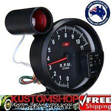 "TACHOMETER 5"" 11K RPM SHIFT LIGHT 7 COLOR LED DISPLAY.  MONSTER TACHO!!!"