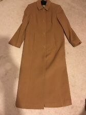 beige wool coat sz 10