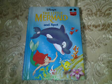 Vintage Disney's The Little Mermaid and Spot Story Book