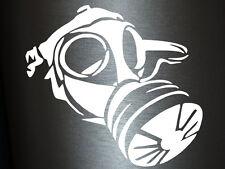 1 x 2 opz ADESIVI ANTIGAS GAS MASK MASCHERA anonymus ADESIVI SHOCKER Fun gag