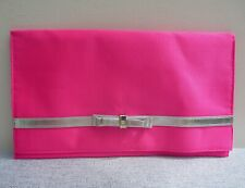 Lancome Pink Makeup Cosmetics Bag / Pouch, Large Size, Brand NEW!
