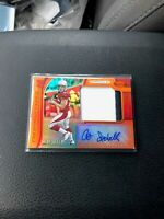 Andy Isabella 2019 Panini Certified Mirror Orange Rookie Jersey Auto 208/299