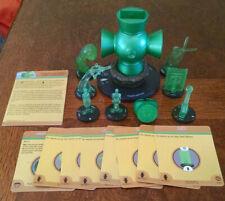 Green Lantern Power Battery, 7 constructs, & ring War of Light Heroclix w/ cards