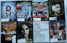 New York Magazine LOT of 8 How to Live with Trump Self Driving Car Media Natalie