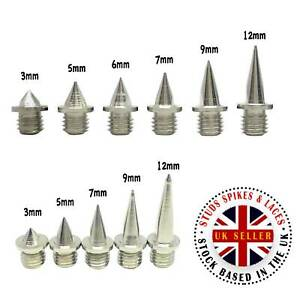 Replacement Running Shoe Spikes 12 x Pyramid Spikes