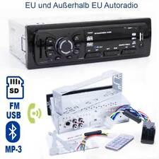 Autoradio mit MP3 SD USB Player FM Radio mit Bluetooth für Freisprecheinrichtung
