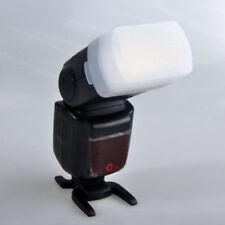 White Bounce Flash Diffuser for Canon 580EX II Godox V850 V860 Yongnuo YN-560