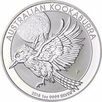 Australien Kookaburra 2018 Silbermünze 1 Dollar Australien 1 Oz Silber
