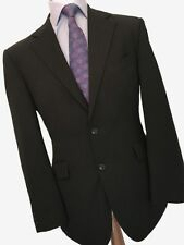 MEN'S SUIT, MARKS AND SPENCER 40 REG CLASSIC FIT, GREY FINESTRIPE SUIT W36 L29