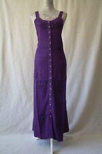 Long boho hippy pagan maxi strappy gypsy gothic festival dress Size 14/ 16/ 18