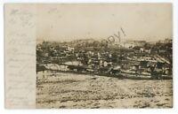 RPPC Aerial View MIDWAY PA Washington County Pennsylvania Real Photo Postcard