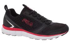 Fila Memory Windstar Men's Running Black/Black/Fire Red Sneakers Shoes