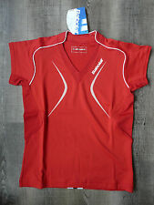 Babolat Polo Club Women Red S Neu!
