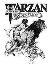 Tarzan and the Golden Lion by J. Allen St. John