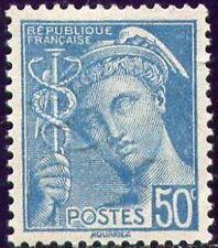 "FRANCE N°538 "" MERCURE 50c TURQUOISE "" NEUF xx TTB"