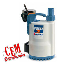 Elettropompa sommergibile TOP 2-GM Pompa sommersa 0,50 hp Galleggiante magnetico