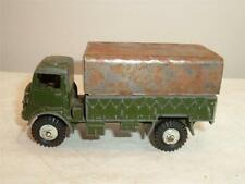 DINKY TOY BEDFORD ARMY QL TRUCK PLAYWORN PAINTED VINTAGE SCROLL DOWN 4 THE PICS