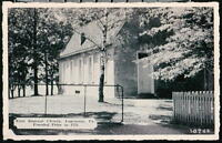 LANCASTER PA East Donegal Church Vintage B&W Postcard Early Old Pennsylvania PC