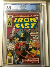 Iron Fist #5 CGC 7.0 $30 Cent Price Variant 1st Appearance Scimitar SCARCE HTF