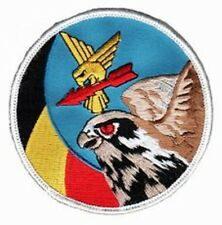 BELGIUM AIR FORCE F-16 SWIRL PATCH BAF SQN SWIRL PATCH