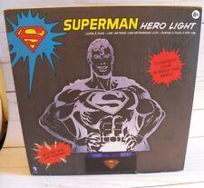 SUPERMAN Hero Light ~ Illuminated Character - Battery & USB Powered - Dorm Room