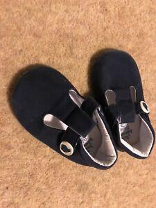 Jojo Maman Bebe 18-24 months size 4 first shoes worn twice
