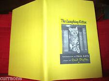 Enid Blyton THE LAUGHING KITTEN 1954 HC photos by Paul Kaye RARE