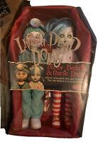 Living Dead Dolls~ Dr. Dedwin and Nurse Necro~Mezco