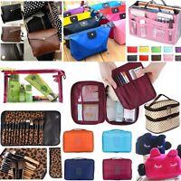 Cosmetic Beauty Makeup Bag Case Organizer Zipper Holder Handbag Travel WashPouch