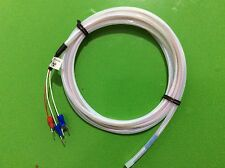 1M RTD 3Wires PT100 sensor waterproof corrosion protection acid resistant 0~300℃