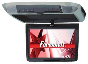 "NEW FARENHEIT T1100CM 11.2"" TFT-LCD Universal Overhead Flip-Down Monitor"