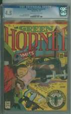 GREEN HORNET COMICS #5 CGC 4.5 CR/OW PAGES