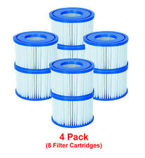Bestway 8 Filter Cartridges VI 58323, Lay-Z-Spa Miami Monaco Vegas Palm Springs